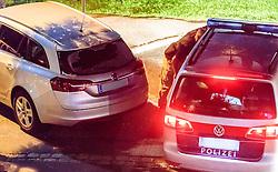 02.09.2016, Kaprun, AUT, Mann feuert in Kaprun mit Schrotflinte vom Balkon, im Bild eines der beschossenen Fahrzeuge. Ein offenbar alkoholisierte Mann hat am Freitagabend in Kaprun einen Cobra-Einsatz ausgelöst. Der Mann habe mit einer Schrotflinte immer wieder das Feuer vom Balkon seines Hauses eröffnet, teilte die Landespolizeidirektion Salzburg kurz vor Mitternacht auf APA-Anfrage mit. Dabei habe er zwei Fahrzeuge beschädigt, Menschen seien nicht verletzt worden // the special police force Cobra. 'A man has triggered a Cobra-use in Kaprun, on Friday night. The apparently intoxicated man had open fired with a shotgun repeatedly from the balcony of his home...' Informed the Police Directorate Salzburg, just before midnight. He had damaged two vehicles however no people where injured. EXPA Pictures © 2015, PhotoCredit: EXPA/ JFK