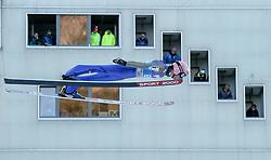 31.12.2016, Olympiaschanze, Garmisch Partenkirchen, GER, FIS Weltcup Ski Sprung, Vierschanzentournee, Garmisch Partenkirchen, Qualifikation, im Bild Manuel Fettner (AUT) // Manuel Fettner of Austria during his Qualification Jump for the Four Hills Tournament of FIS Ski Jumping World Cup at the Olympiaschanze in Garmisch Partenkirchen, Germany on 2016/12/31. EXPA Pictures © 2016, PhotoCredit: EXPA/ Jakob Gruber