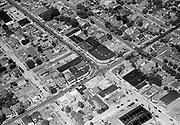 """ackroyd-03710-3. """"Shell Oil Co. Aerial Milwaukie & Bybee. Jul 3, 1952"""""""