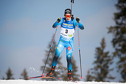 Chevalier-Bouchet Anais of France competes during the IBU World Championships Biathlon 12,5 km Mass start Women competition on February 21, 2021 in Pokljuka, Slovenia. Photo by Vid Ponikvar / Sportida