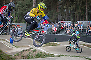 #332 (MILANO Jefferson) VEN during practice at Round 5 of the 2018 UCI BMX Superscross World Cup in Zolder, Belgium