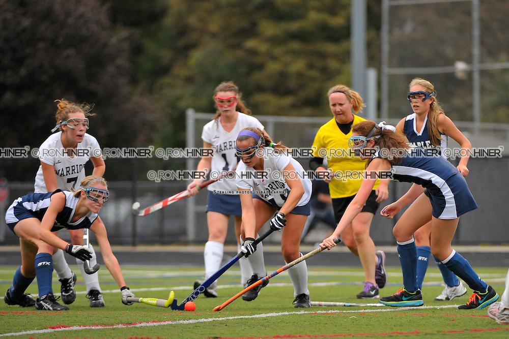 Staples High School Field Hockey..Wilton defeats Staples 3-2..Elizabeth Bennewitz.Meghan Fox