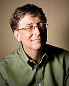 Portraits of Bill Gates - Co-Founder & Chairman of  Microsoft - 2008-06