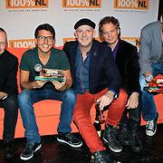 NLD/Hilversum/20130109 - Uitreiking 100% NL Awards 2012, Blof wint de Award 'Artiest van het Jaar' en Jan Smit de 'Ouvreaward'
