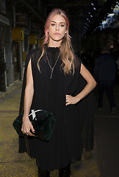 """FILE PHOTO It has today been reported that: """"Victoria Beckham is angry over husband David's growing friendship with wild socialite Lady Mary Charteris."""" <br /> <br /> LFW: Mulberry Catwalk Celebrities at The Printworks in Surrey Quays in London on 18 September 2016.<br /> <br /> 18 September 2016.<br /> <br /> Please byline: Vantagenews.com"""