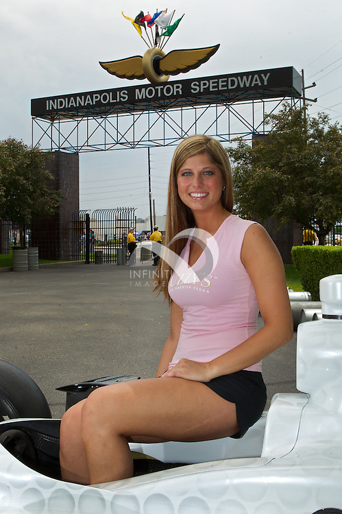 Fuzzy's Ultra Premium Vodka at the Indianapolis Motor Speedway.<br /> Photo by Infiniti Images