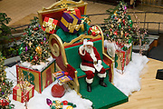 USA, Wisconsin, Milwaukee, Christmas decorations at a shopping mall, November 2006