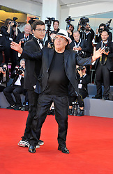 Albano attending the Vox Lux premiere during the 75th Venice Film Festival