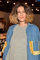 ANNA BARNETT at the Smashbox Influencer Dinner hosted by Lauren Laverne held at Carousel, 71 Blandford Street, London on 21st January 2016.