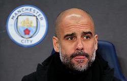 Manchester City manager Pep Guardiola - Mandatory by-line: Matt McNulty/JMP - 07/03/2018 - FOOTBALL - Etihad Stadium - Manchester, England - Manchester City v Basel - UEFA Champions League, Round of 16, second leg