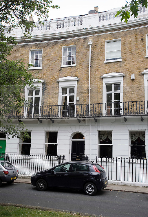 © London News Pictures. File picture dated 15/05/2011. The home of Vicky Pryce the ex wife of Energy and Climate Change Secretary Chris Huhne, in Clapham, South London. Pressure on Cabinet minister Chris Huhne intensified today (22/05/2011) with the publication of details of his former wife's driving licence. The Energy Secretary is due to be interviewed this week by Essex Police over allegations he persuaded his ex-wife, Vicky Pryce, to accept speeding penalty points on his behalf  .Photo credit should read: London News Pictures