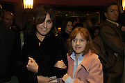Solange Azagury-Partridge and Mardi. Mary Poppins Gala charity night  in aid of Over the Wall. Prince Edward Theatre. 14 December 2004. ONE TIME USE ONLY - DO NOT ARCHIVE  © Copyright Photograph by Dafydd Jones 66 Stockwell Park Rd. London SW9 0DA Tel 020 7733 0108 www.dafjones.com