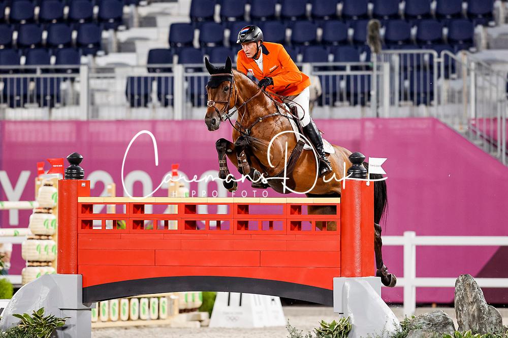 Houtzager Marc, NED, Dante, 371<br /> Olympic Games Tokyo 2021<br /> © Hippo Foto - Stefan Lafrentz<br /> 04/08/2021