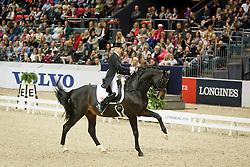 Von Bredow-Werndl Jessica, (GER), Unee BB<br /> Grand Prix Freestyle<br /> Reem Acra FEI World Cup Dressage - Goteborg 2016<br /> © Hippo Foto - Dirk Caremans<br /> 27/03/16
