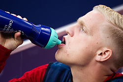 Donny van de Beek of Ajax during the UEFA Champions League group E match between Ajax Amsterdam and AEK FC at the Johan Cruijff Arena on September 19, 2018 in Amsterdam, The Netherlands