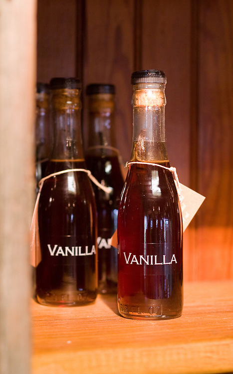 Vanilla extract for sale, Sweetgrass Winery, Union, Maine.