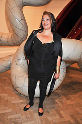 ZAHA HADID attends the private view of Anish Kapoor's latest exhibition at the Royal Academy of Arts, Piccadilly, London on 22nd September 2009