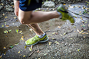 Trail runners in Taiwan.