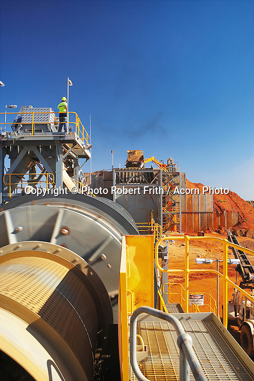 Crusher and trommel<br /> Kimberley Diamond Company<br /> Ellendale Mine