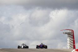 October 21, 2017 - Austin, United States of America - Motorsports: FIA Formula One World Championship 2017, Grand Prix of United States, ..#19 Felipe Massa (BRA, Williams Martini Racing), #39 Brendon Hartley (NZL, Scuderia Toro Rosso) (Credit Image: © Hoch Zwei via ZUMA Wire)