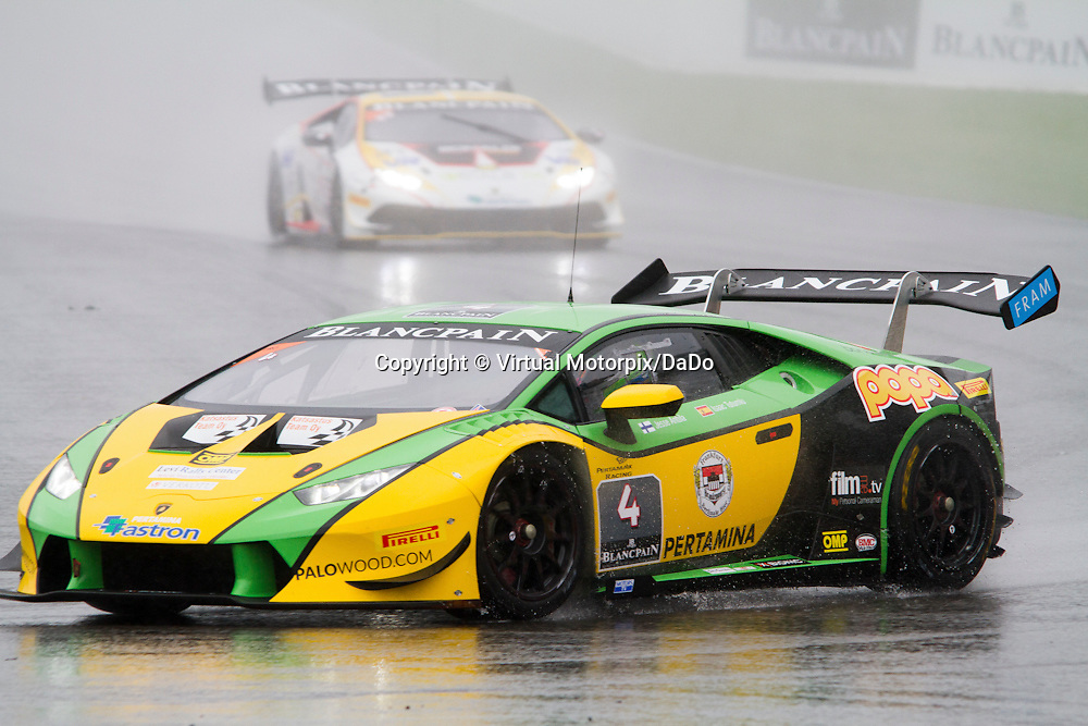 #4, Lamborghini Huracán, Leipert Motorsport, I.Tutumlu/J.Anttila , Lamborghini BlancPain Super Trofeo 2015