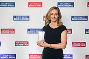 Alexandra Ross of Autodesk Inc. poses for a photo during the Bay Area Corporate Counsel Awards at The Westin San Francisco Airport in Millbrae, California, on March 18, 2019. (Stan Olszewski for Silicon Valley Business Journal)