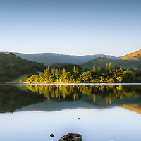 July 2016 Ullswater , Cumbria - Mark Rowe walking the Ullswater Way in Cumbria