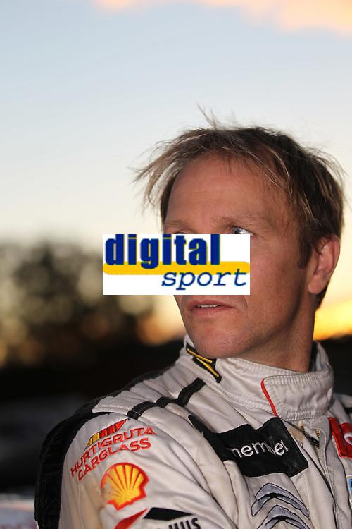 MOTORSPORT - WORLD RALLY CHAMPIONSHIP 2011 - AUSTRALIA RALLY - COFFS HARBOUR (AUS) - 8 TO 11/09/2011 - PHOTO: FRANCOIS BAUDIN / DPPI - <br /> SOLBERG PETTER (NOR) - CITROËN DS 3 WRC - PETTER SOLBERG WRT - AMBIANCE PORTRAIT