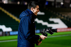 Tom Minty arrives at Home Park prior to kick off - Mandatory by-line: Ryan Hiscott/JMP - 17/12/2019 - FOOTBALL - Home Park - Plymouth, England - Plymouth Argyle v Bristol Rovers - Emirates FA Cup second round replay