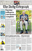 February 01, 2021 (UK): Front-page: Today's Newspapers In United Kingdom