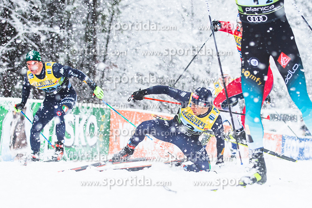 Federico Pellegrino (ITA) during the man team sprint race at FIS Cross Country World Cup Planica 2019, on December 22, 2019 at Planica, Slovenia. Photo By Peter Podobnik / Sportida