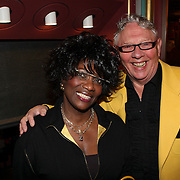 NLD/Amsterdam/20080404 - Premiere Porgy and Bess, gerda havertong en partner Roelof Lenten
