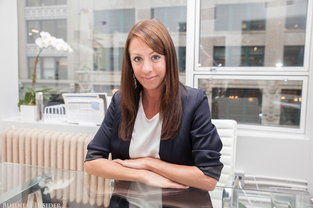 Francine Della Badia, then CEO of Bonobos, 2016