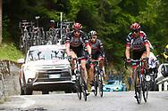 Fabio Aru (ITA - UAE Team Emirates) during the 101th Tour of Italy, Giro d'Italia 2018, stage 15, Tolmezzo - Sappada 178 km on May 20, 2018 in Italy - Photo Luca Bettini / BettiniPhoto / ProSportsImages / DPPI