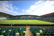 General view inside the Windsor Park Stadium ahead of the UEFA European 2020 Qualifier match between Northern Ireland and Germany at National Football Stadium, Windsor Park, Northern Ireland on 9 September 2019.