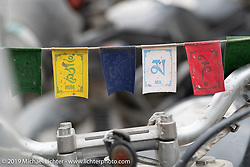 Chai stop in Jomsom on Motorcycle Sherpa's Ride to the Heavens motorcycle adventure in the Himalayas of Nepal. On the fifth day of riding, we went from Muktinath to Tatopani. Friday, November 8, 2019. Photography ©2019 Michael Lichter.