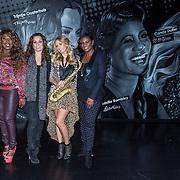 NLD/Amsterdam/20140415 - DVD presentatie Ladies of Soul, Glennis Grace, Berget Lewis, Trijntje Oosterhuis, Edsilia Rombley, Candy Dulfer
