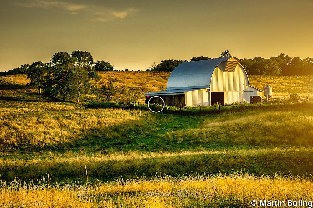 Ferguson Farm, Barn @ Sunset