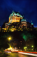 Old Quebec City (Hotel Fairmont Le Chateau Frontenac in background), Quebec City, Quebec, Canada