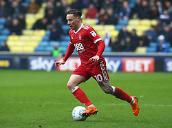 March 30, 2018 - London, England, United Kingdom - Nottingham Forest's Barrie McKay.during Championship match between Millwall against Nottingham Forest at The Den stadium, London  England on 30 March  2018. (Credit Image: © Kieran Galvin/NurPhoto via ZUMA Press)