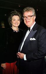 The MARQUESS & MARCHIONESS OF TAVISTOCK at a dinner in London on 17th November 1999.MZE 75