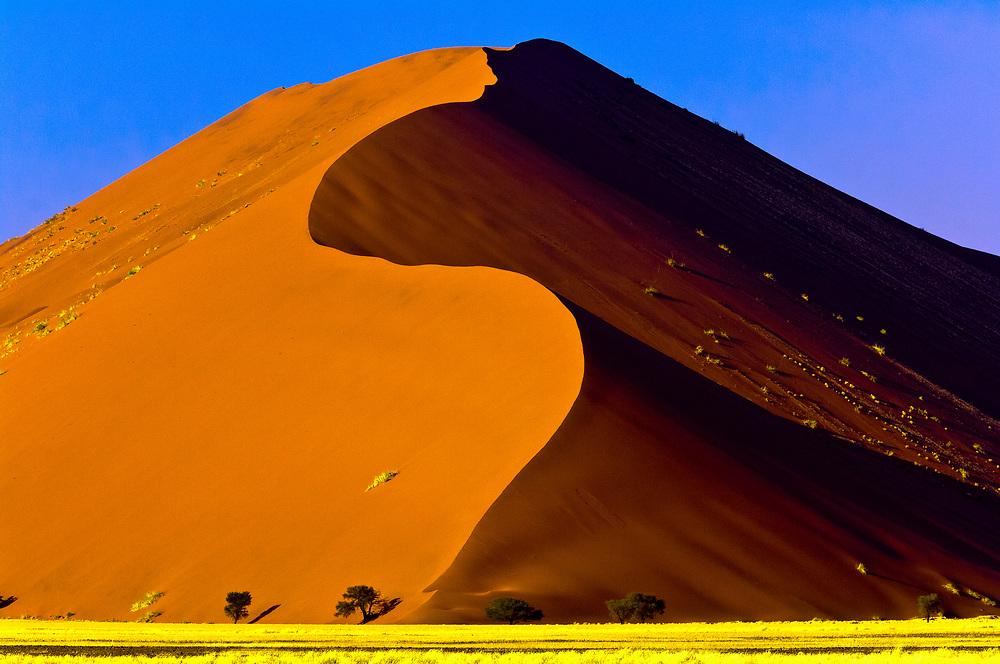 Sossusvlei Sand Dunes (highest dunes in the world), Namib Desert, Namib-Naukluft National Park, Namibia