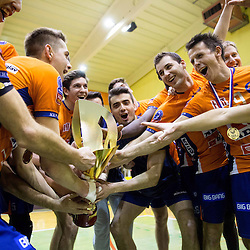 20150117: SLO, Volleyball - Slovenian Cup Final, OK ACH Volley vs OK Salonit Anhovo