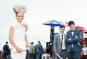 30/07/2015 report free : Winners Announced in Kilkenny Best Dressed Lady, Kilkenny Best Irish Design & Kilkenny Best Hat Competition at Galway Races Ladies Day <br /> At the event was Barbara Dunne, Abbeyknockmoy<br /> Photo:Andrew Downes, xposure