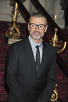 George Michael announces his new European tour Symphonia, Royal Opera House, London. UK, 11 May 2011:  Contact: Rich@Piqtured.com +44(0)7941 079620 (Picture by Alan Roxborough)