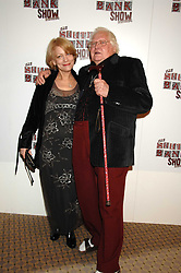 KEN RUSSELL and his wife Jelka at the South Bank Show Awards held at The Dorchester, Park Lane, London on 29th January 2008.<br /><br />NON EXCLUSIVE - WORLD RIGHTS
