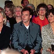 Modeshow Frans Molenaar, Gerard Joling en Sylvia Toth