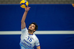 Hossein Ghanbari of Lycurgus in action during the league match Taurus - Amysoft Lycurgus on January 16, 2021 in Houten.