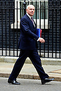 © Licensed to London News Pictures. 21/05/2013. Westminster, UK. Iain Duncan Smith, Conservative MP, Secretary of State for Work and Pensions. Ministers arrive for a Cabinet meeting at Downing Street today 21 May 2013. Photo credit : Stephen Simpson/LNP