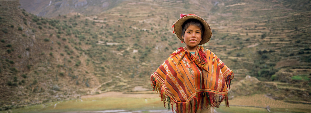 Young Man in the mountains, Peru, 2003